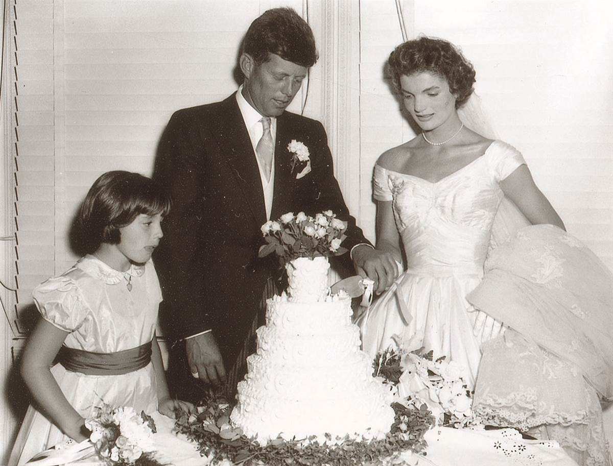 Jacqueline Bouvier And John F. Kennedy