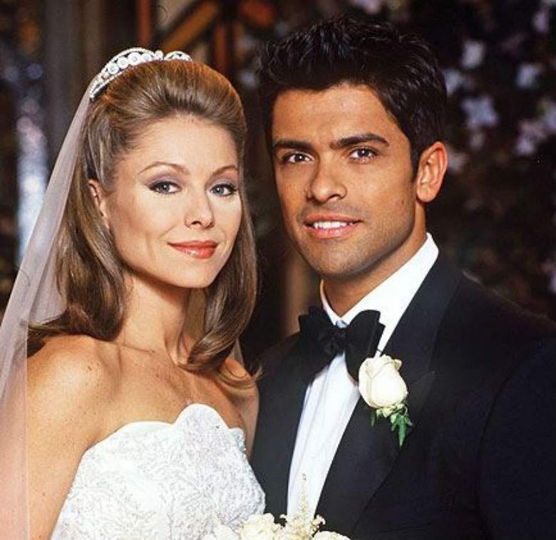 Kelly Rippa And Mark Consuelos