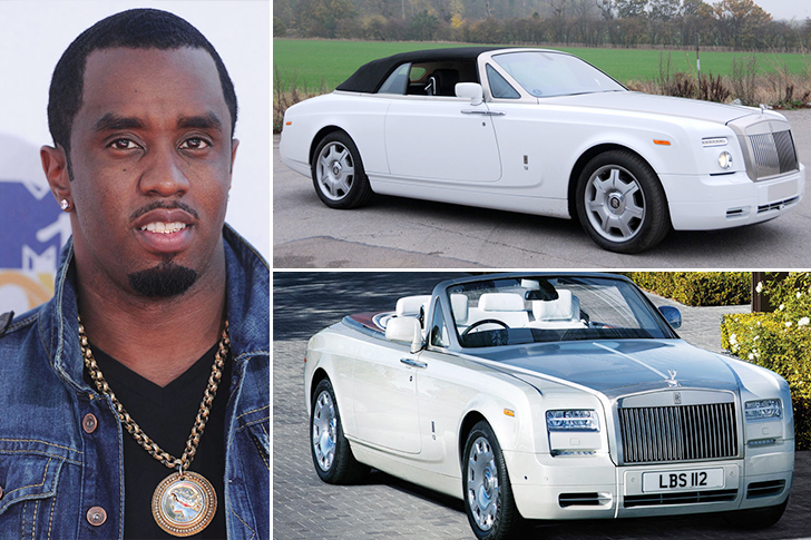 P.Diddy – Rolls Royce Phantom Drophead Coupe Estimated 440K