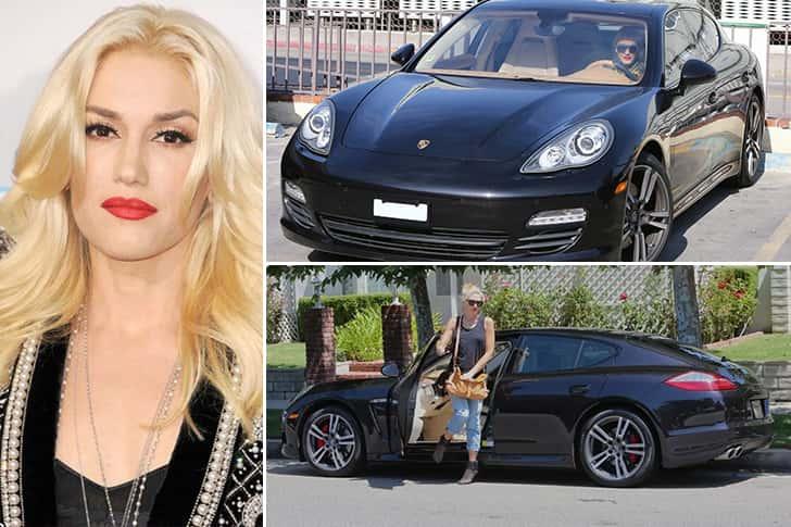 Gwen Stefani – Porsche Panamera Estimated 200K