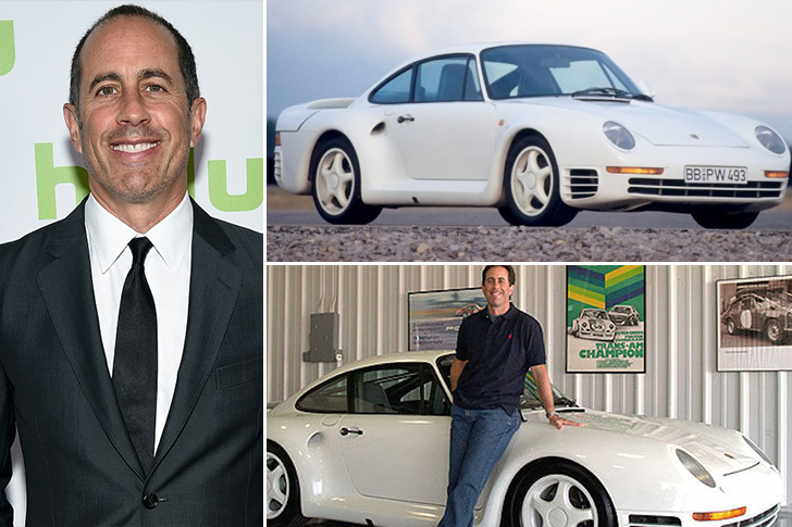 Jerry Seinfeld – Porsche 959 Estimated 1.8 Million
