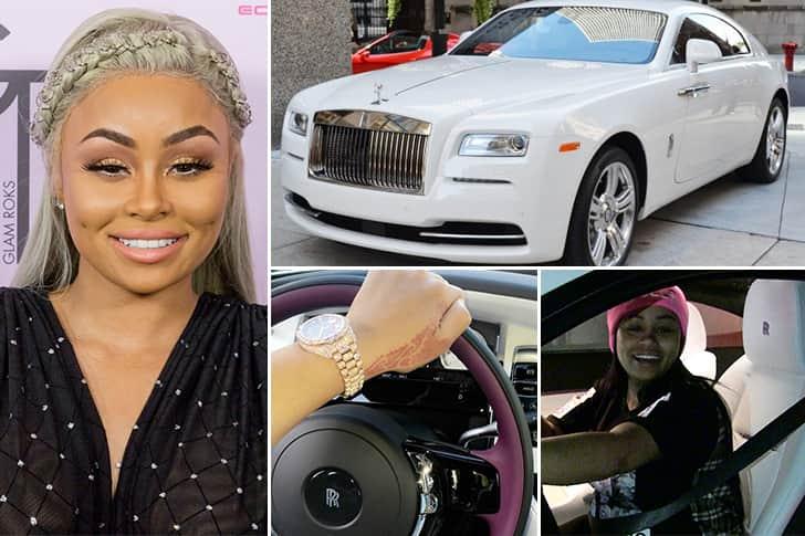 Blac Chyna – Rolls Royce Wraith Estimated 400K