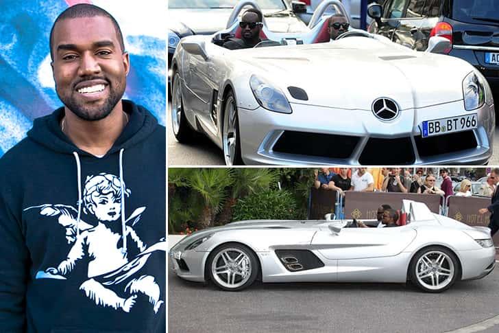 Kanye West – Mercedes SLR Estimated 850K