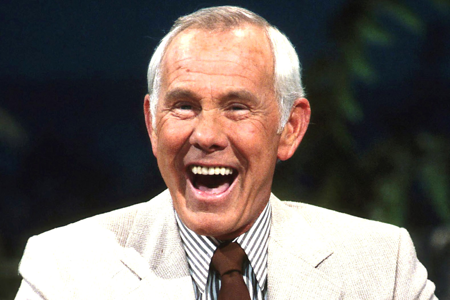 Undated Photo Of Johnny Carson On The Tonight Show