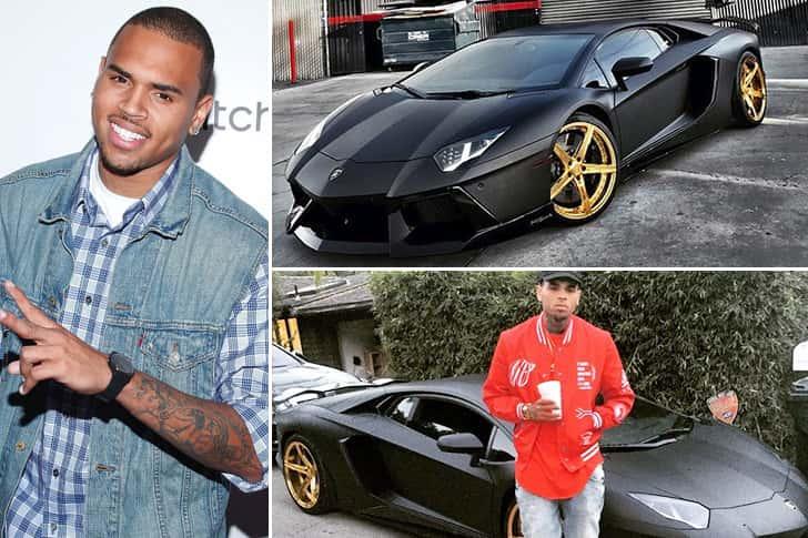 Chris Brown – Lamborghini Aventador Estimated 450K
