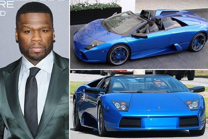 50 Cent – Lamborghini Murcielago Estimated 2 Million
