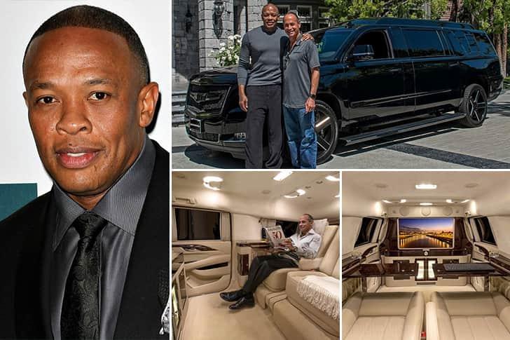 Dr. Dre – Cadillac Escalade ESV Estimated 400K