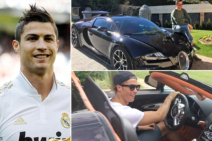 Cristiano Ronaldo – Bugatti Veyron Estimated 2.5 Million