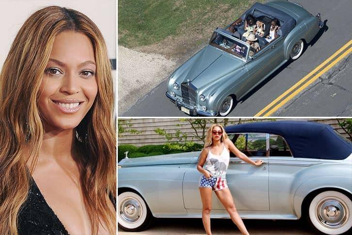 Beyoncé – Rolls Royce Silver Cloud II Convertible Estimated 1 Million