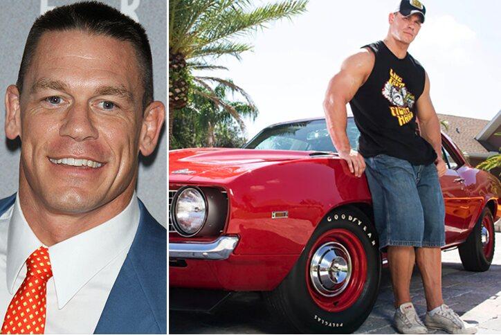 John Cena – Chevrolet Camaro Estimated 300K