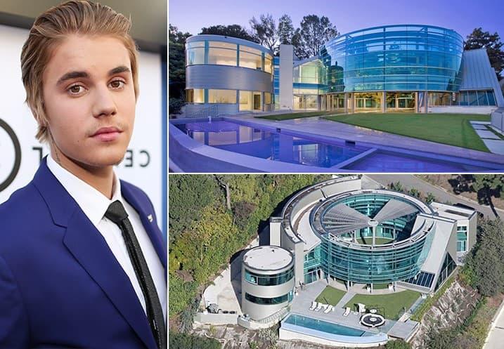 Justin Bieber 20 Million Hollywood Hills