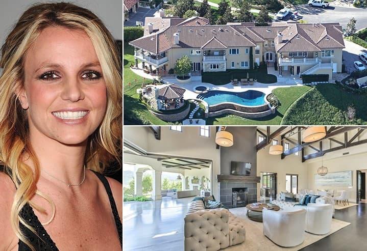 Britney Spears 9 Million California