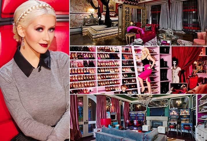 Christina Aguilera 13.5 Million Los Angeles