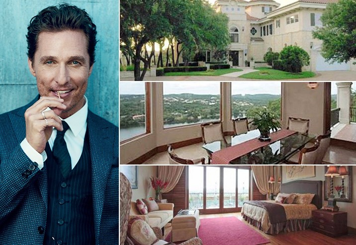 Matthew McConaughey 4 Million Austin