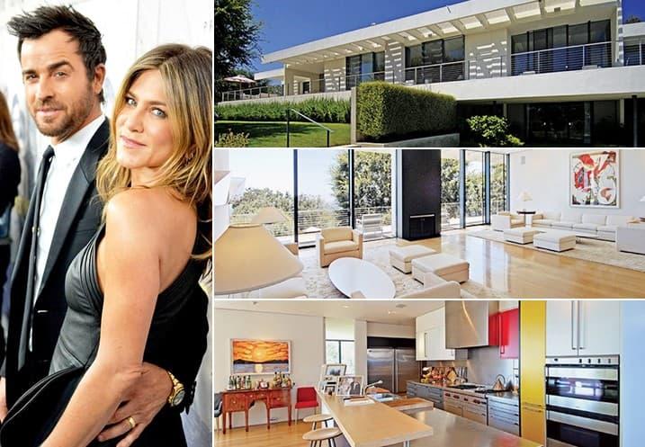 Jennifer Aniston Justin Theroux 22 Million Bel Air