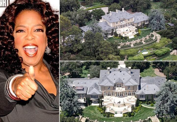 Oprah Winfrey 50 Million California