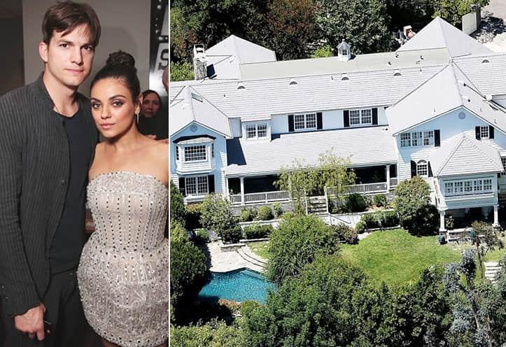 Mila Kunis And Ashton Kutcher 10 Million Beverly Hills