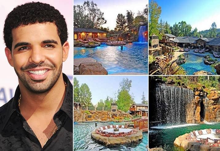 Drake 7.7 Million Hidden Hills