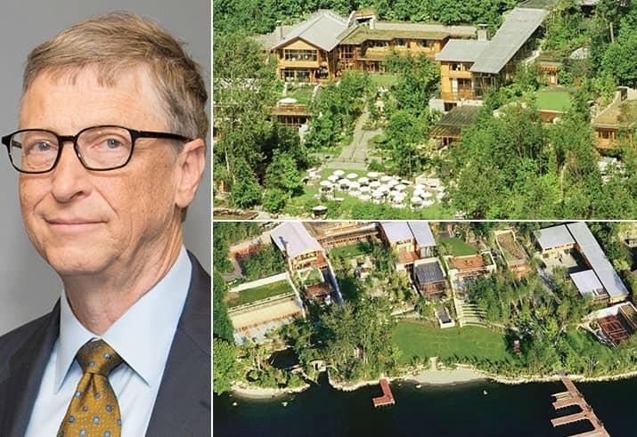 Bill Gates 147.5 Million Washington