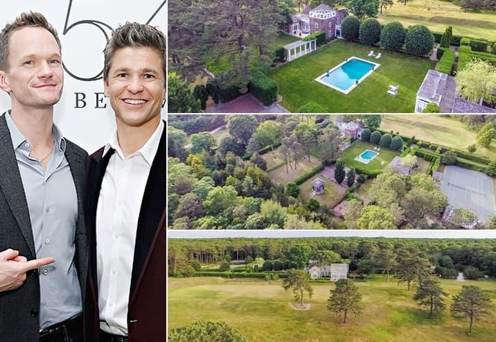Neil Patrick Harris And David Burtka 5.5 Million East Hampton