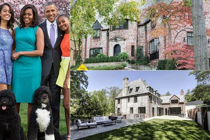 Obama Family 5.7 Million Washington D.C