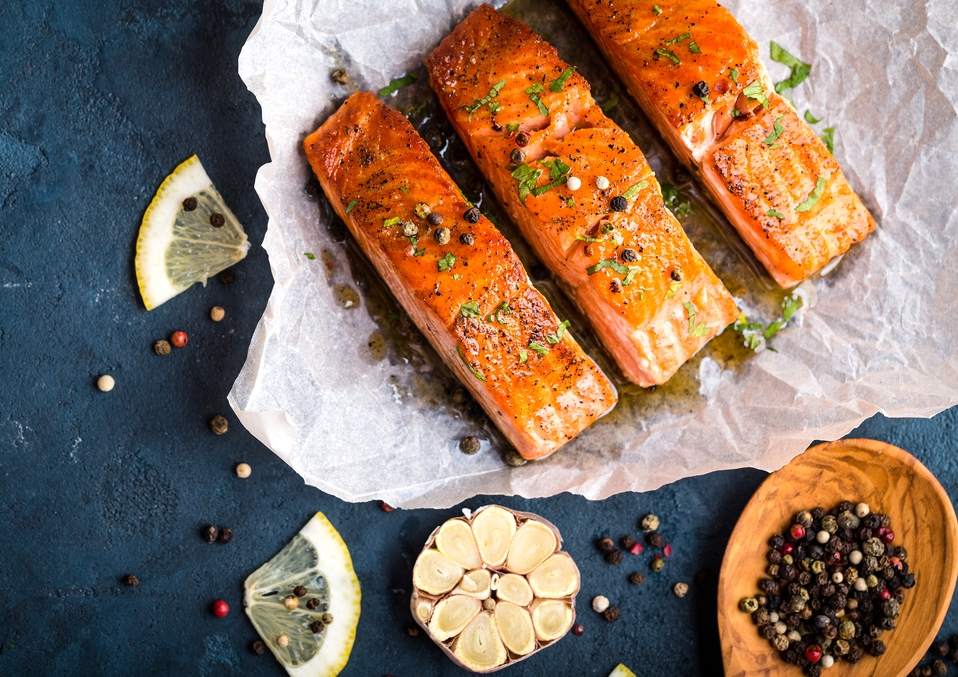 Try This Super Delicious Baked Garlic Butter Salmon1