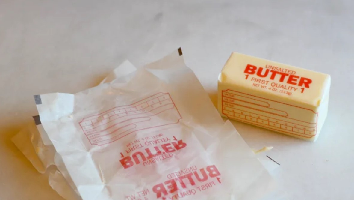 Don't Throw Out Old Butter Wrappers
