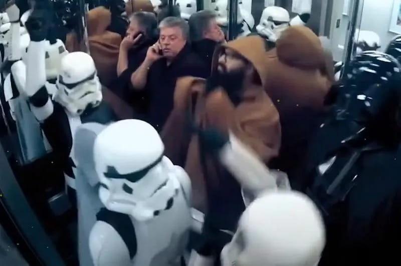 Dancing Storm Troopers