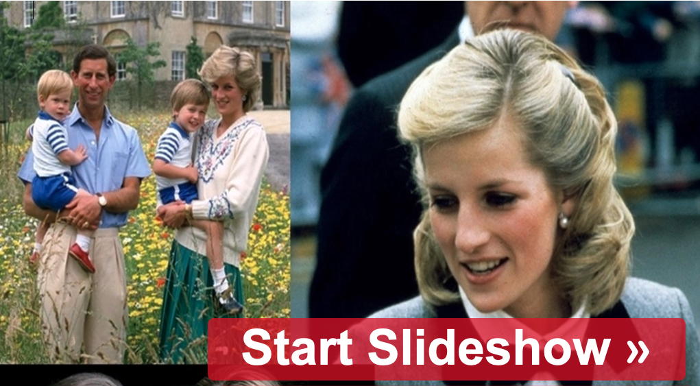 Here Are The Most Stellar Photos Of Princess Diana
